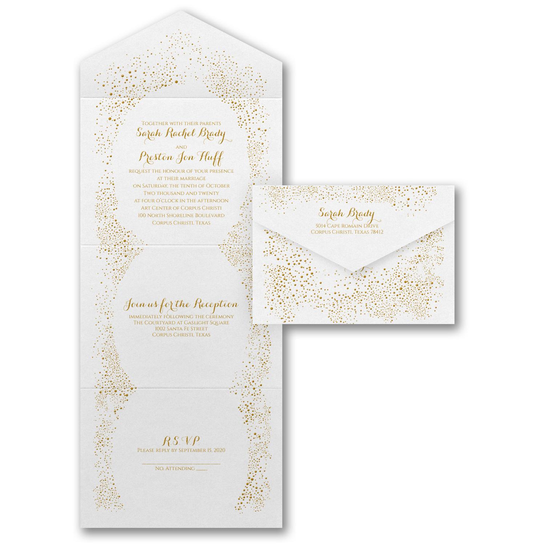 Budget Friendly Seal \'n Send Invitations • Persnickety Invitation Studio