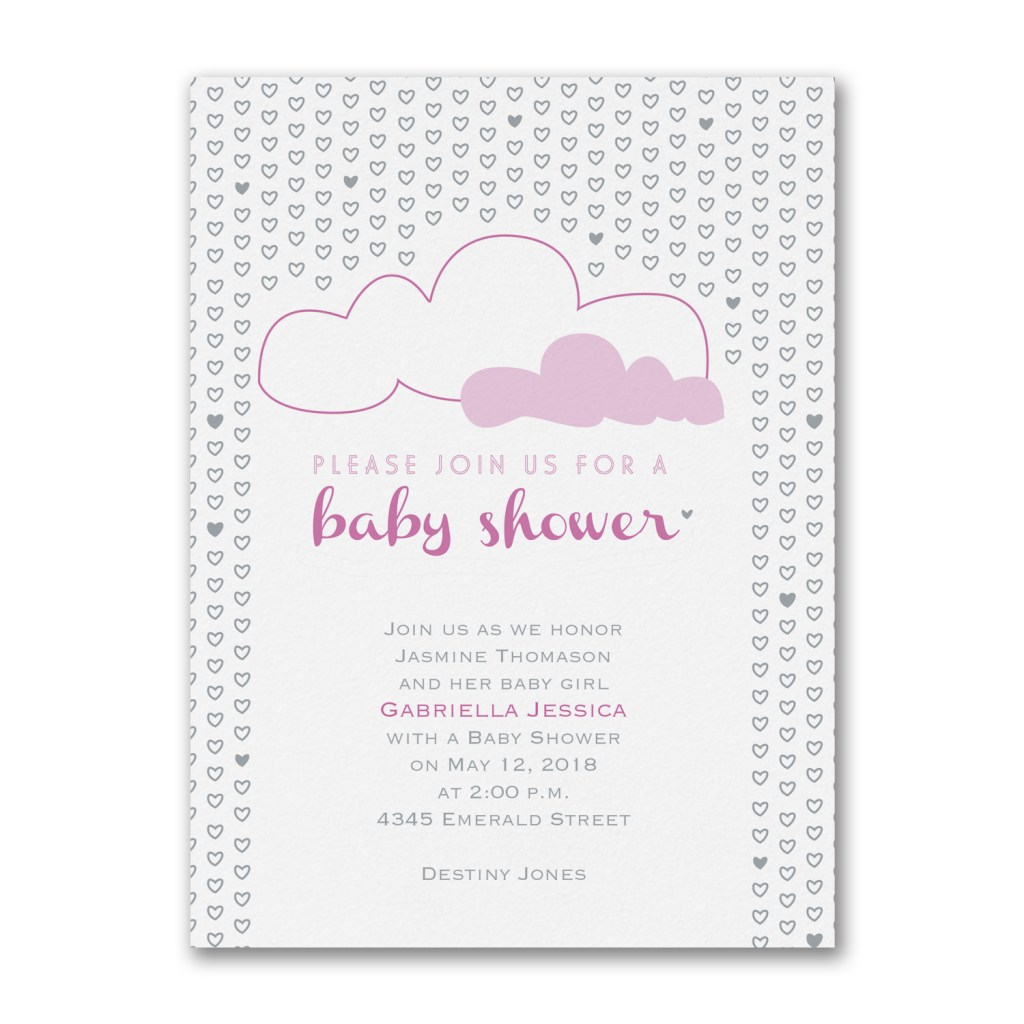 Oh Baby Persnickety Invitation Studio