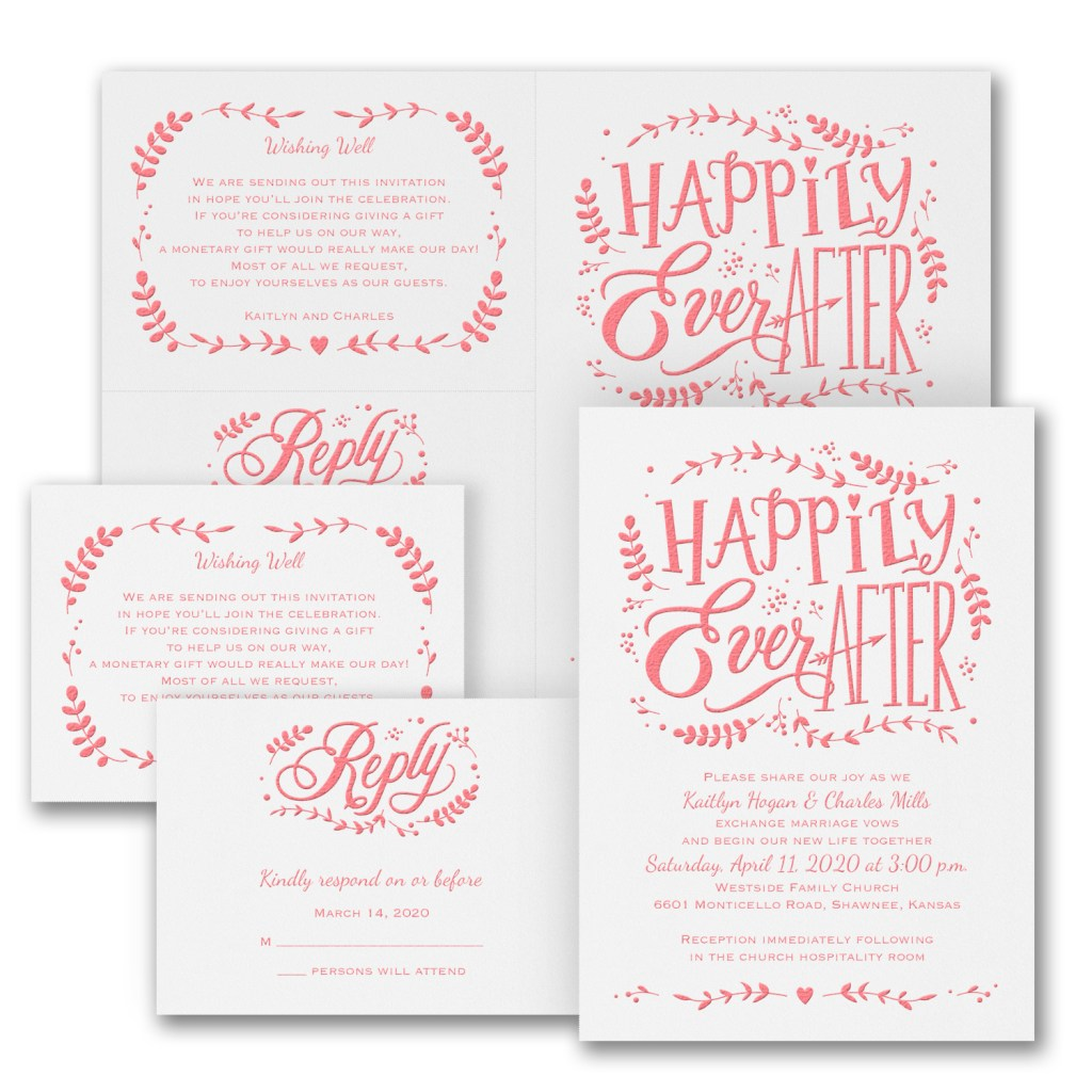 whimsical wonder invitation budget friendly