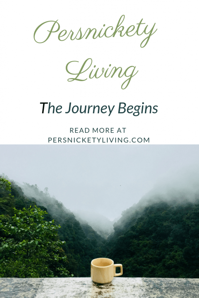 The Persnickety Living Journey Begins