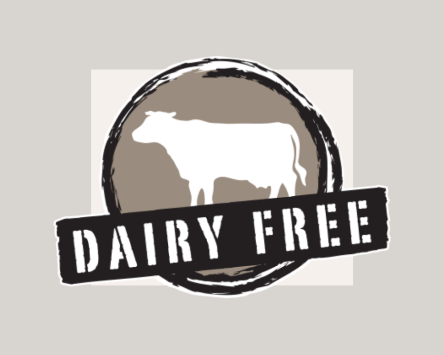 Dairy free different dietary needs