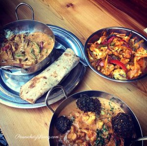 Incredible dishes at The Sudra