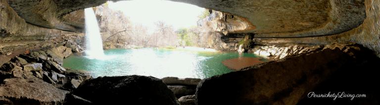 Panoramic view grotto