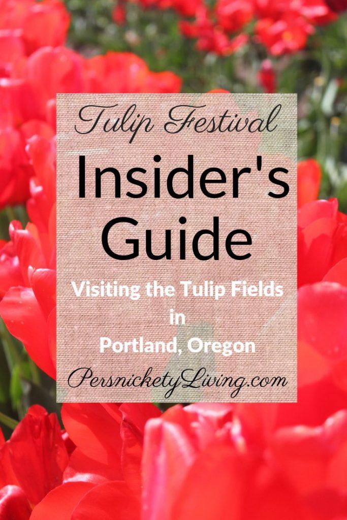 Portland Tulip Festival Oregon