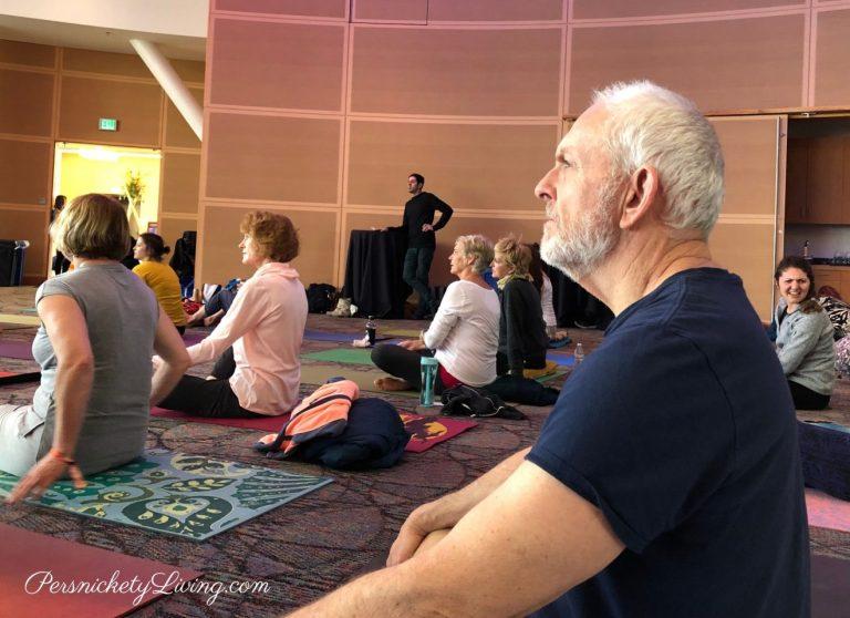 Yoga Session at Yogafort Yoga Festival