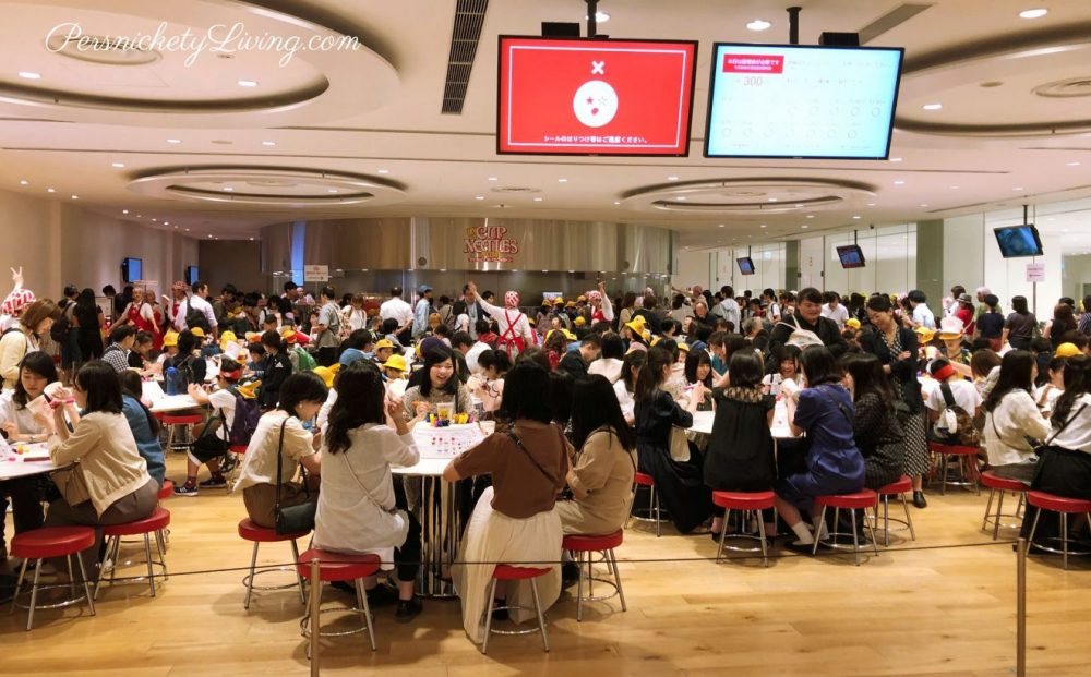My Cup Noodles Factory is Popular at Cup Noodles Museum Yokohama