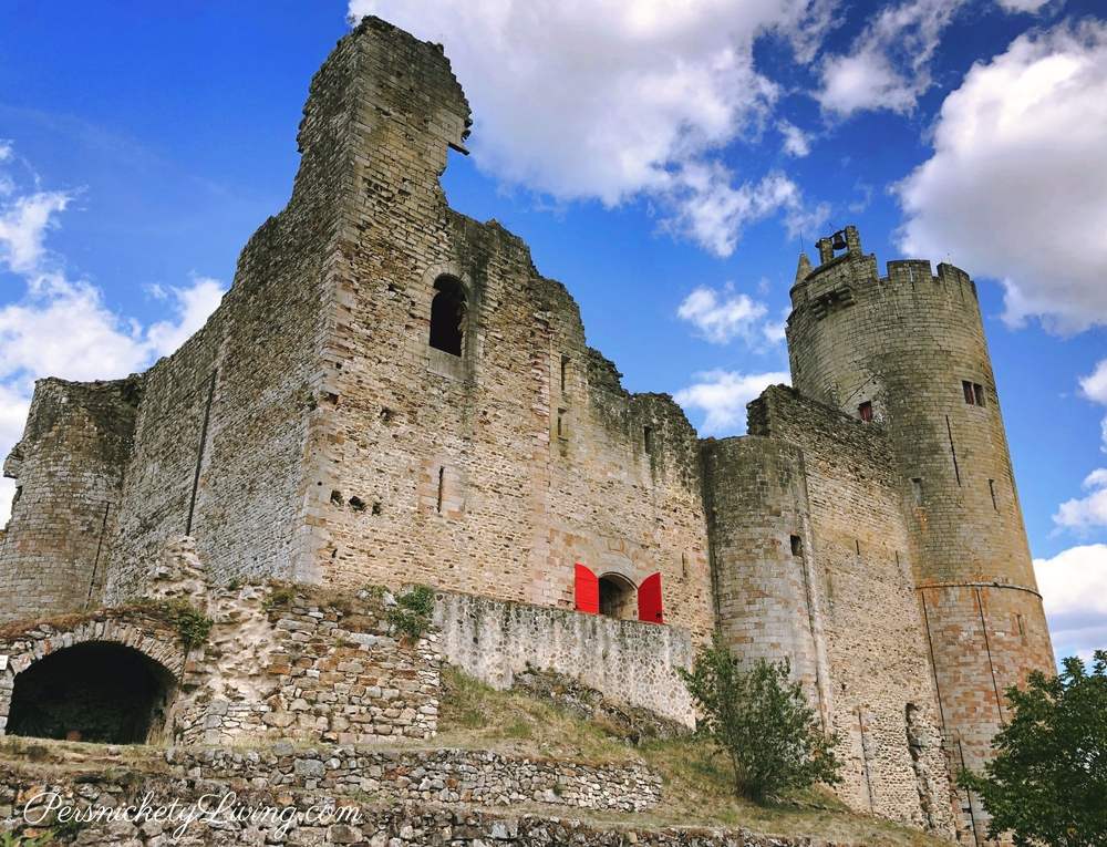 Najac Castle Ruins Exterior