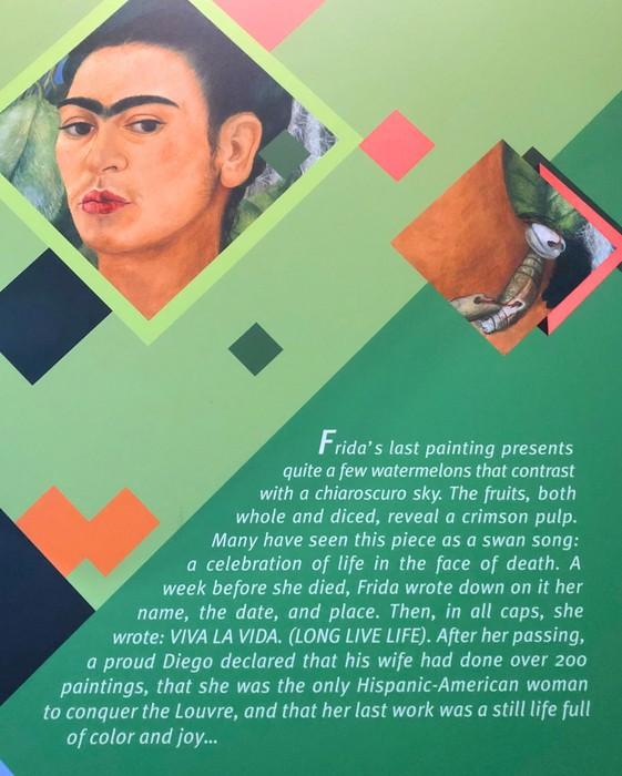 Frida's Last Painting