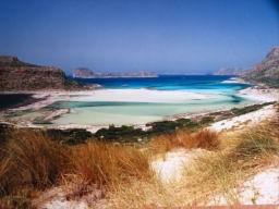 Baie de Balos et son 'lagon' sublime