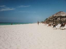 Plage de l'hotel Brisas Del Caribe