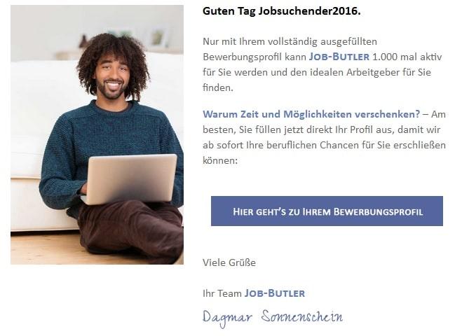 job-butler-profil-weiter-ausfüllen
