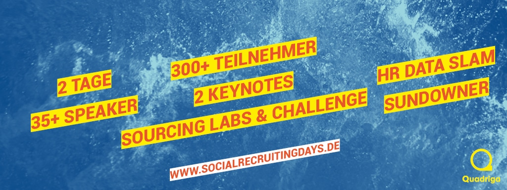Banner Social Recruiting Days - sponsored Content