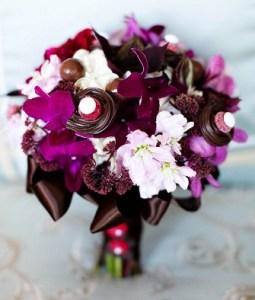 букет з шоколаду