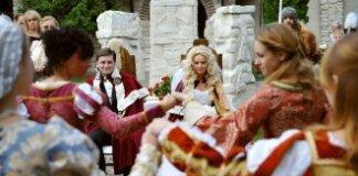 весілля в середньовічному стилі
