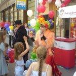 дитяче свято на вулиці
