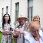 зустріч гостей в українському стилі