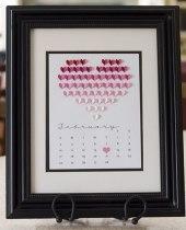 Святковий календар на День Святого Валентина