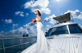 весілля на кораблі у відкритому морі