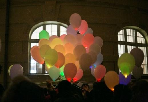 Запуск кульок з бажаннями