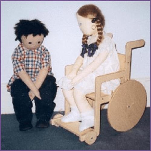 x_Wooden wheelchair