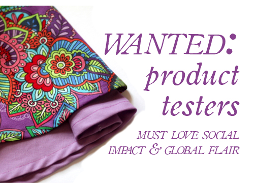 fair trade product testers