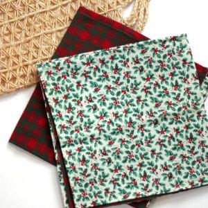 Cloth Holiday Napkins