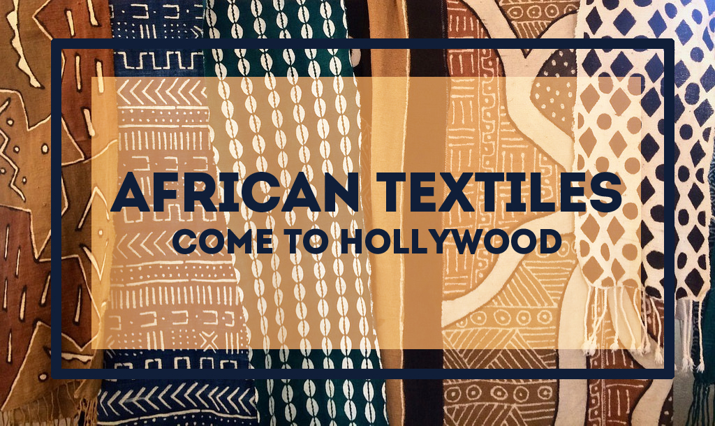 African fashion in hollywood with Black Panther