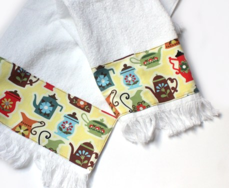 Coffee Tea Themed Kitchen Towels