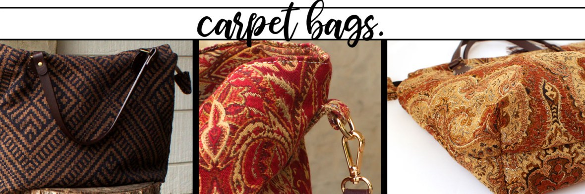 Fair Trade Carpet bags Mary Poppins Purses