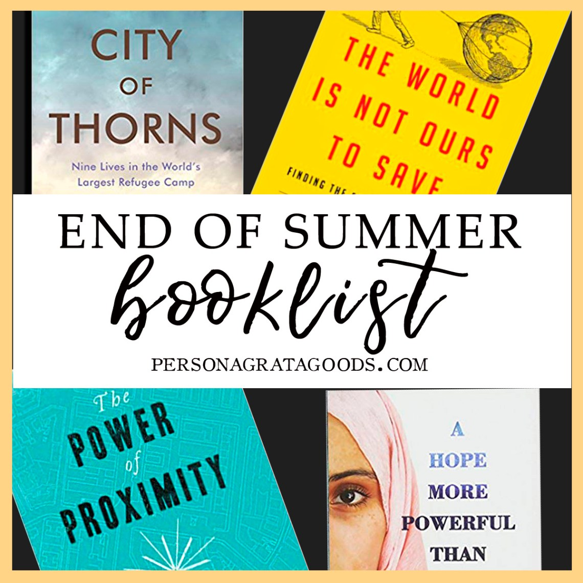 Social Justice Refugees Book Reviews Summer Reads