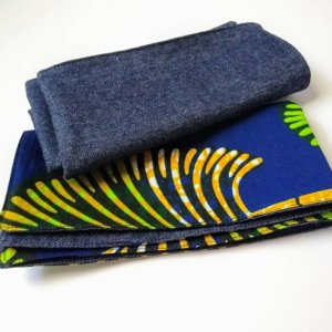 African Fabric Dinner Napkins