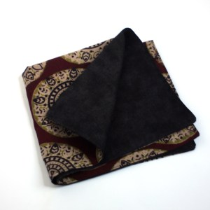 Black & Rust Dinner Napkins