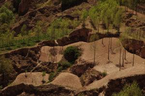 mountainous northwest China