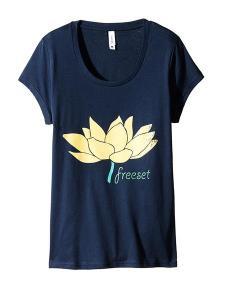 Freeset lotus blossom shirt