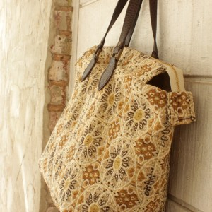 Desert Rose Carpet Bag Tote