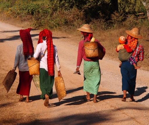 Karen women in Myanmar