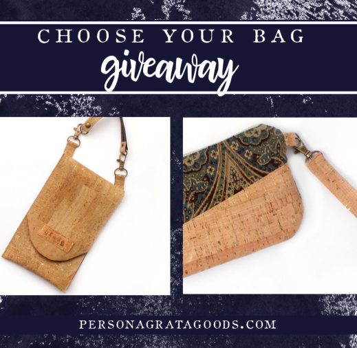 Cork Bag Giveaway Made in the United States