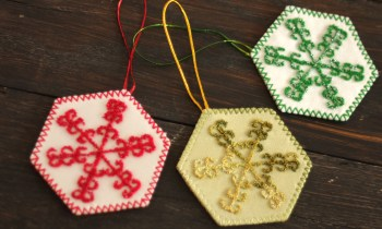 Snowflake Ornament Collection Fair Trade