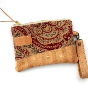 Carpet Bag Cork Purse North Carolina