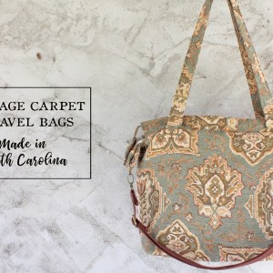 Vera Bradley style Travel Bag Carpet Purse