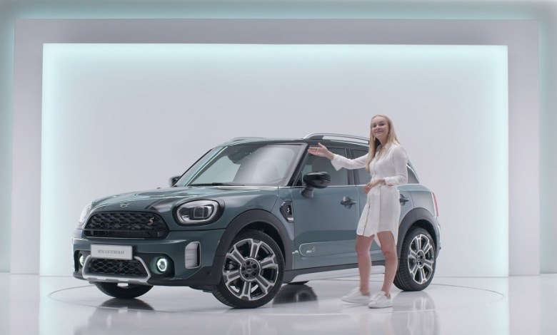 Photo of Mayster and AvK Brand Events a virtual showroom launch for MINI Netherlands. A custom, fully interactive @homeMINI Countryman starts Virtual Dealer