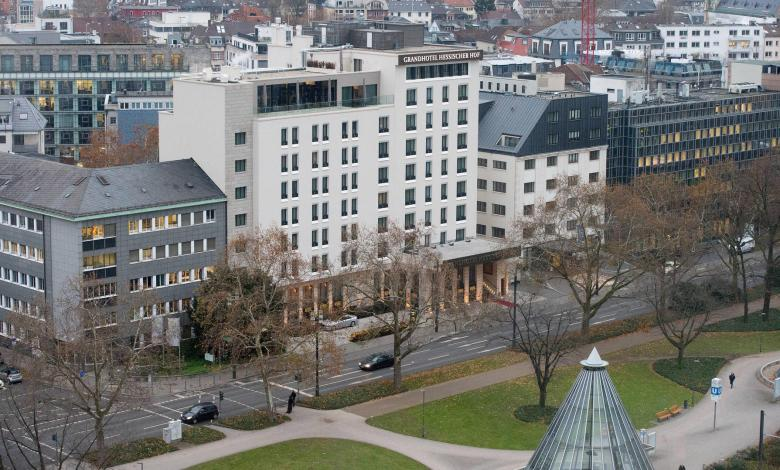 "Photo of Frankfurt luxury hotel ""Hessischer Hof"" closes"