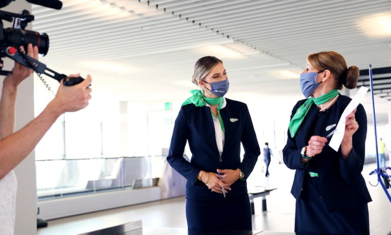 Photo of Transavia connects with TV series in times of crisis