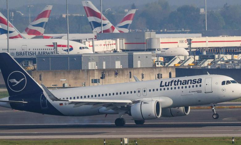 Photo of Lufthansa flies to Great Britain – and back empty