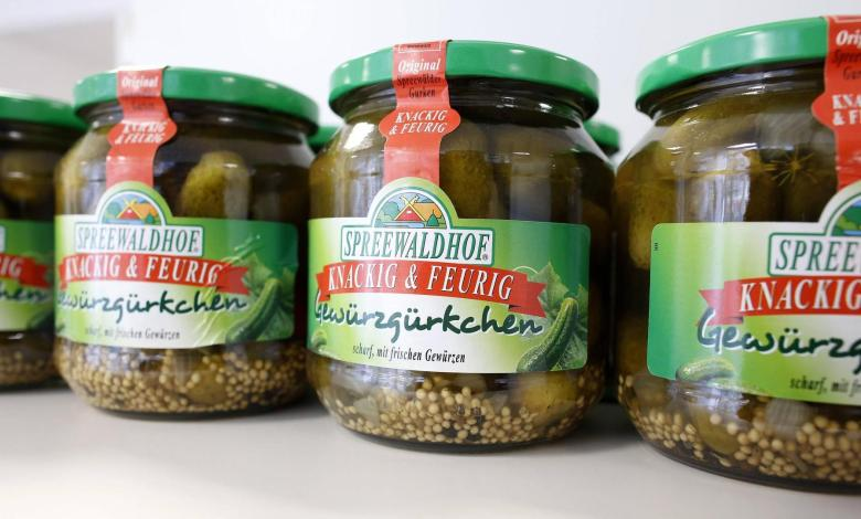"Photo of Popular cucumbers: traditional Eastern brand ""Spreewaldhof"" becomes French"