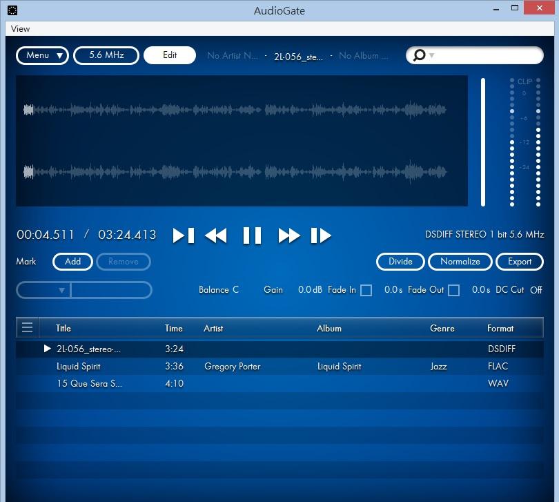 AudioGate 3雖然是民用軟件,但依然設有編輯功能。