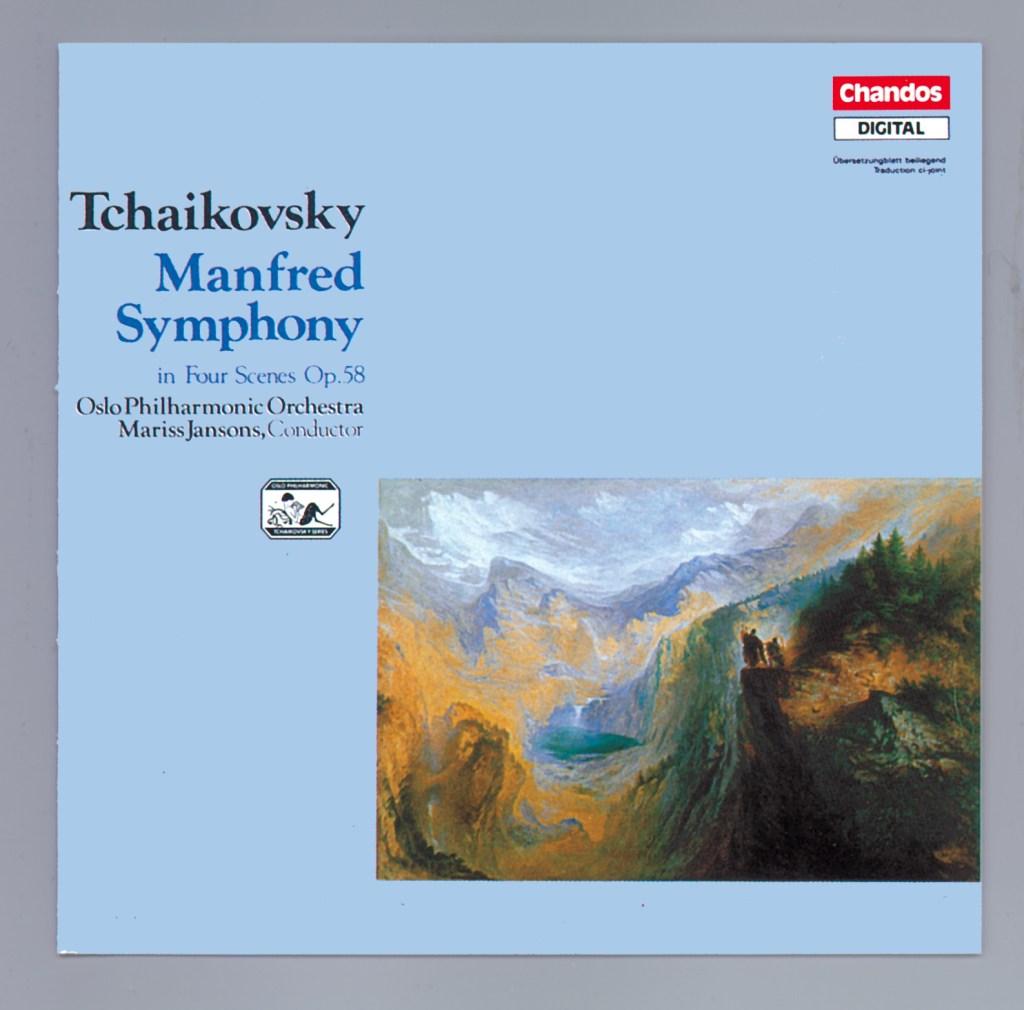 《Tchaikovsky: Manfred Symphony》(Mariss Jansons & Oslo Philharmonic Orchestra)