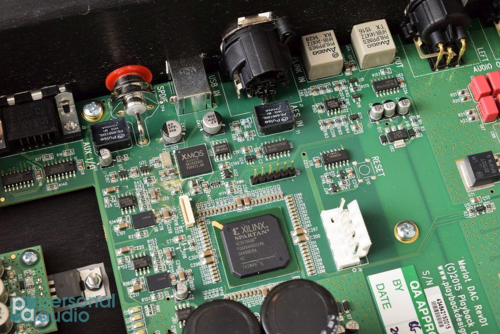 Merlot用上XMOS非同步USB接收晶片、Xilinx FPGA可編程晶片