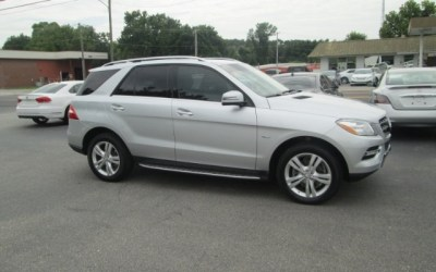 Pre-Owned 2012 Mercedes-Benz ML350