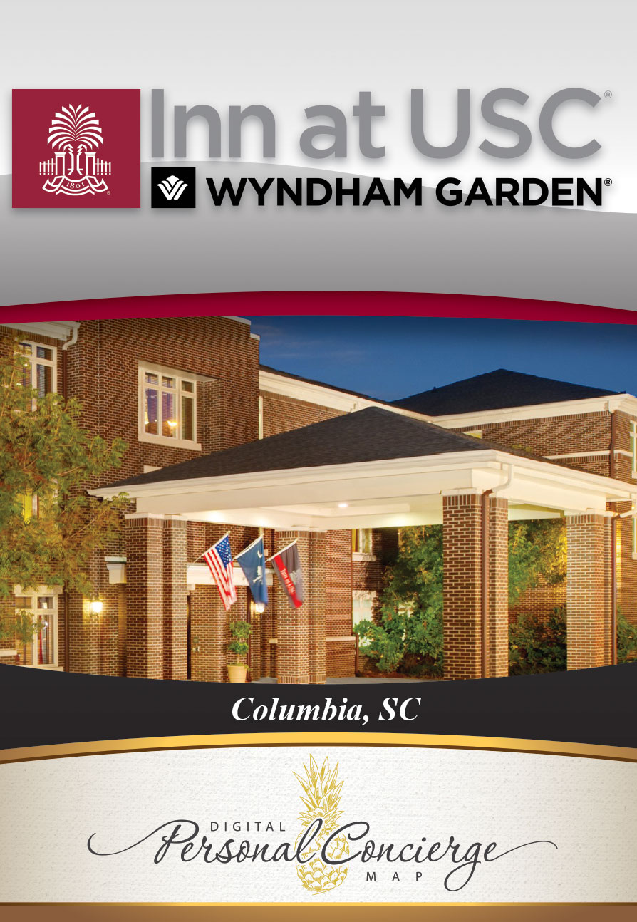 Inn At USC Wyndham Garden Columbia, Hotel, 1619 Pendleton St, Columbia, SC  29201, United States. Call Now